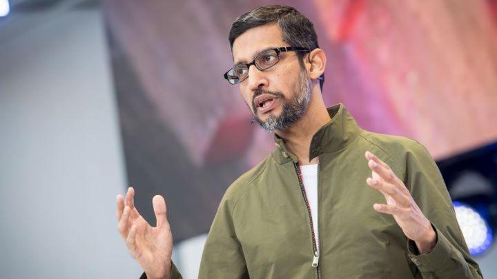 Google CEO Sundar Pichai is meeting with GOP lawmakers this week