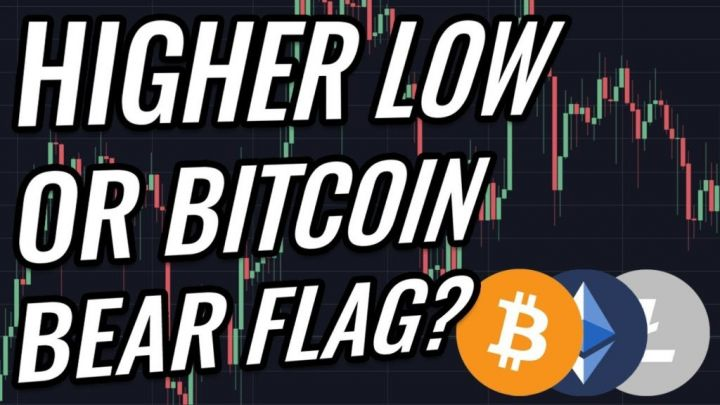 Higher Low Or Bear Flag For Bitcoin & Crypto Markets? BTC, ETH, BCH, LTC & Cryptocurrency News!