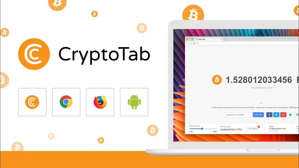 How To 1btc Mining Speed in Cryptotab  Earn 1 Bitcoins Fast