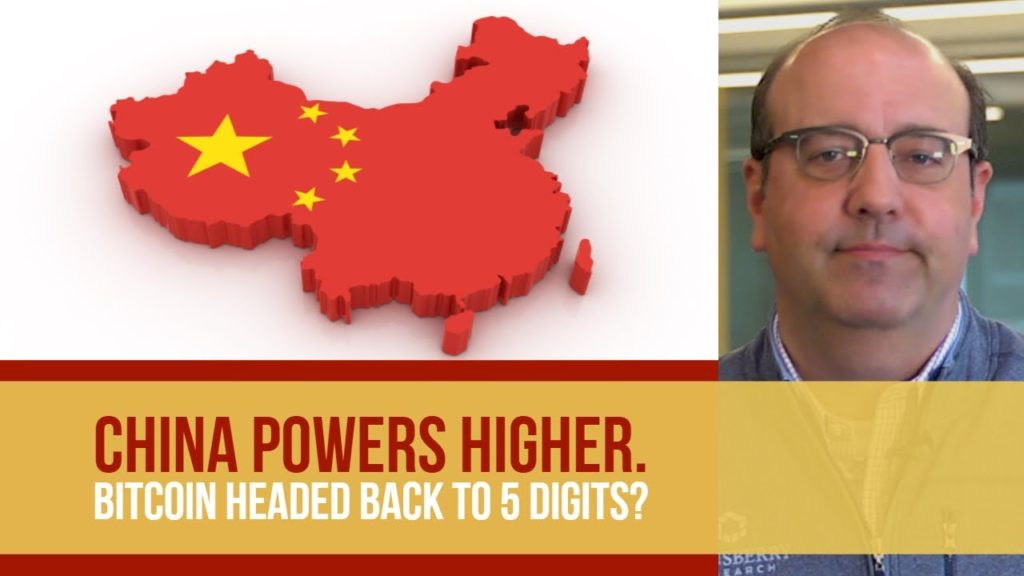 China Powers Higher. Bitcoin Headed Back to 5 Digits?