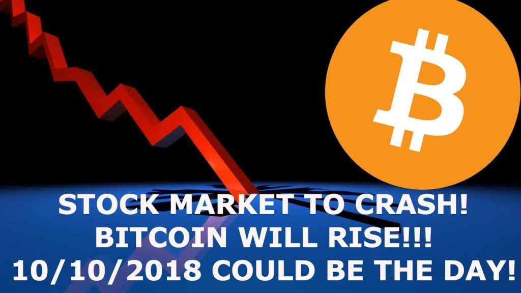 THE IMF THINKS INVESTORS WILL JUMP TO BITCOIN WHEN THE STOCK MARKET CRASHES!!!