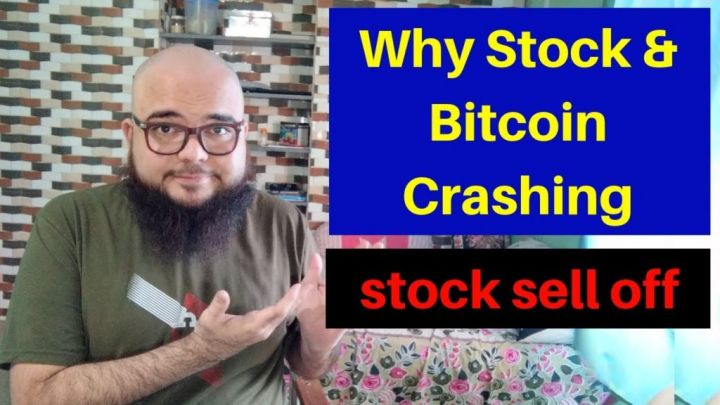 Why Stock & Bitcoin Crashing – stock Market is in sell – Bitcoin Technical Analysis