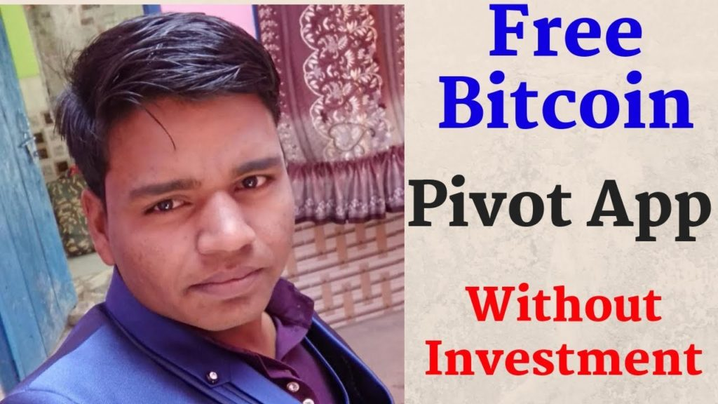 Earn Free Bitcoin From Your Phone with Pivot App :: Without Investment