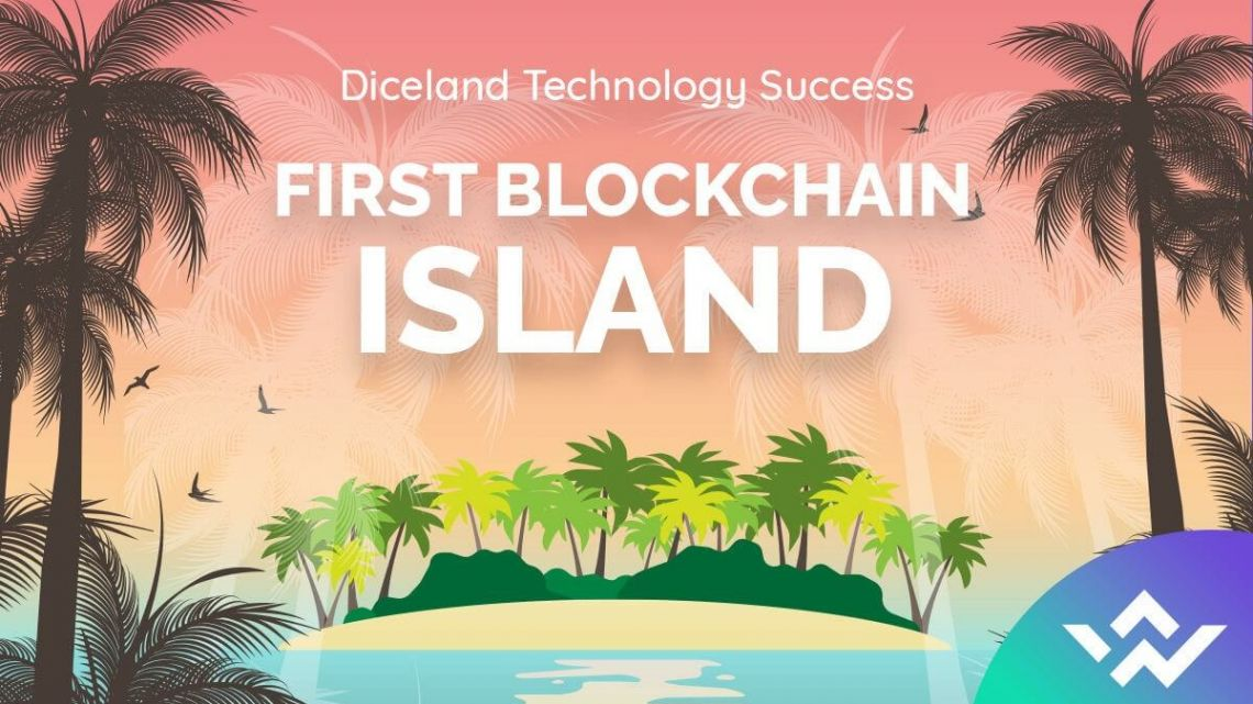 Diceland Technology's Success — the First Island on the Blockchain