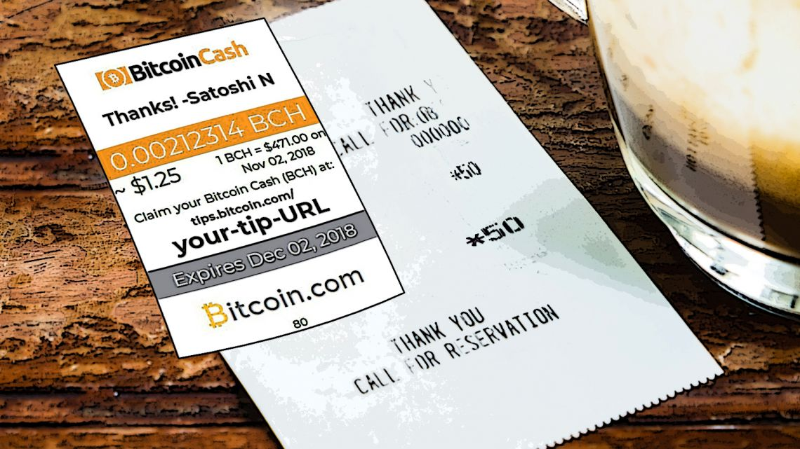 Express Your Gratitude With Bitcoin.com's New Smart Tip Generator