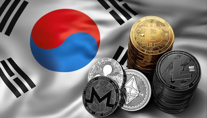 South Korean authorities apprehended nine people who were using cryptocurrency