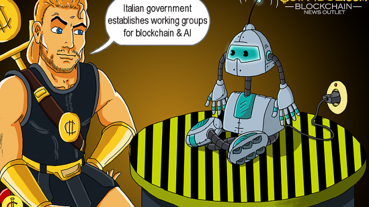 Italian Government Establishes Working Groups for Blockchain Tech & Artificial Intelligence