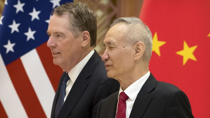 The US is no longer threatening to jack up tariffs on China, the clearest sign a trade deal is close