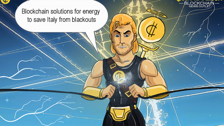 Blockchain Solutions for Energy to Save Italy from Blackouts