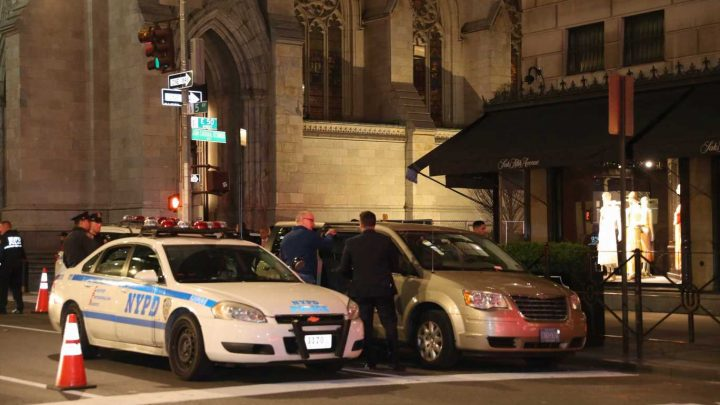 Man caught walking into St. Patrick's Cathedral with gas cans