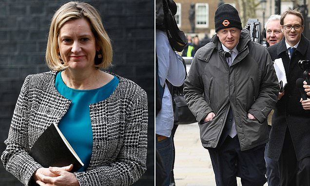 Remainer Amber Rudd says she COULD run to be PM after Theresa May