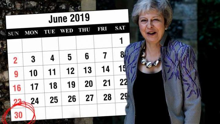 Theresa May sets new June 30 deadline for Brexit deal as 'toxic' EU elections approach