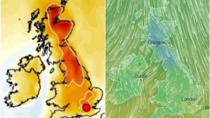 UK weather forecast – Warm spells of 20C sunshine today before Arctic plunge sends temperatures plummeting into bank holiday