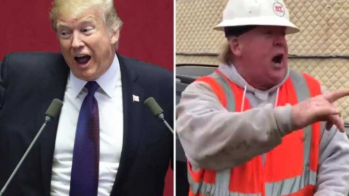World's best Donald Trump impersonator is a builder who does an unbelievable impression of the US president