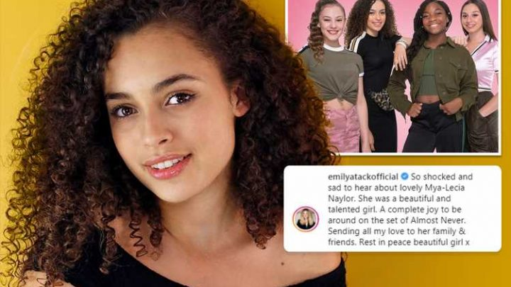 Mya-Lecia Naylor dead – CBBC star dies aged 16 as Emily Atack leads tributes to 'much-loved' teen actress