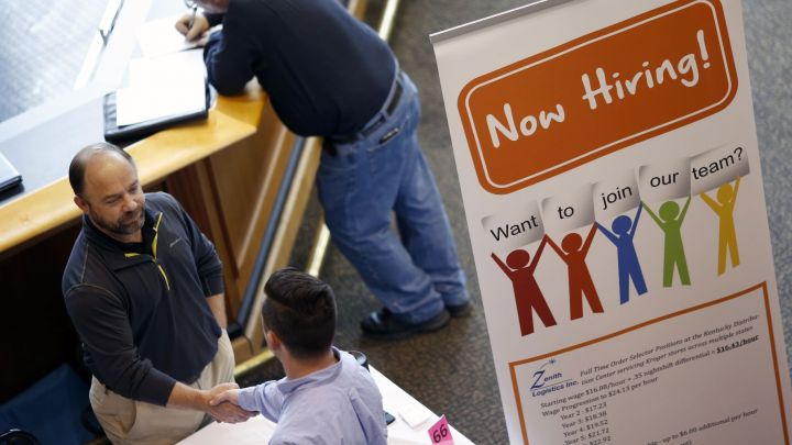 US weekly jobless claims drop to the lowest level since 1969