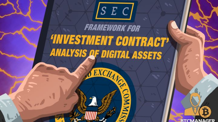 SEC Officials Publish Framework for Determining Legal Status of Digital Assets