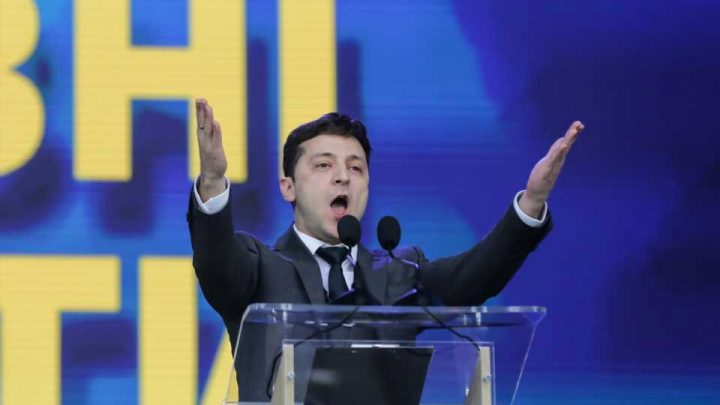Newly Elected Ukraine President Promises Blockchain Not Bribes
