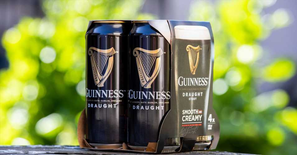 Guinness brewer Diageo to scrap plastic packaging for its beer