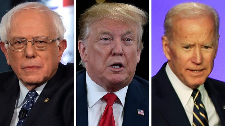 Trump predicts 'Crazy Bernie Sanders,' 'Sleepy Joe Biden' will be 2 Dem 'finalists' in 2020 race