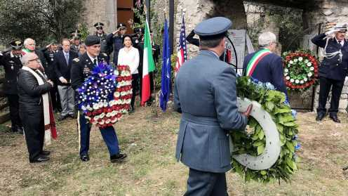 8 US servicemen killed during World War II honored in Italy on 75th anniversary