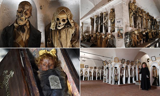 Inside ghoulish 16th century Sicily catacombs