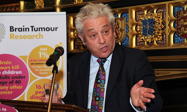 Now YOU pay for Bercow to show off in the US