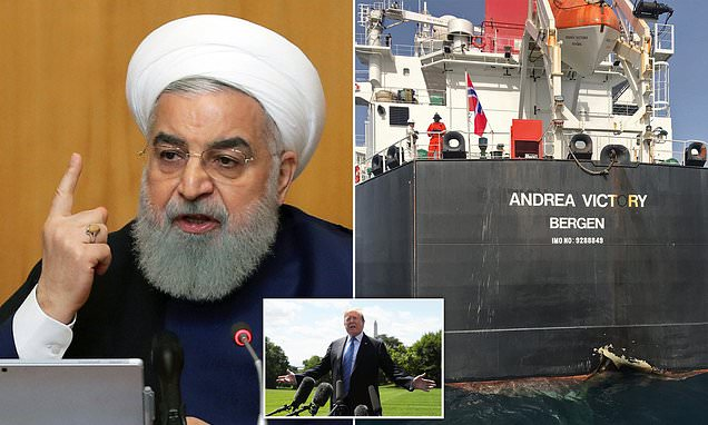 Iran warns US is playing a 'dangerous game'