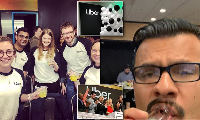 Uber employees 'began drinking before dawn on day of IPO'