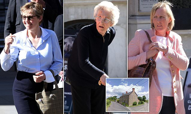 Farmer's widow and her daughter go to war over family's £2.5m estate
