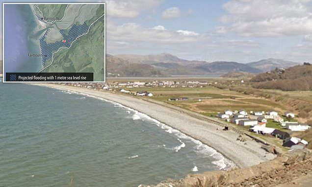 Neighbours say village is being destroyed amid rising sea levels