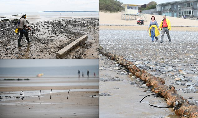 Sand disappearing from popular beach