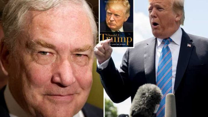 Donald Trump pardons ex-Telegraph owner and convicted fraudster Conrad Black after mogul wrote flattering book about president