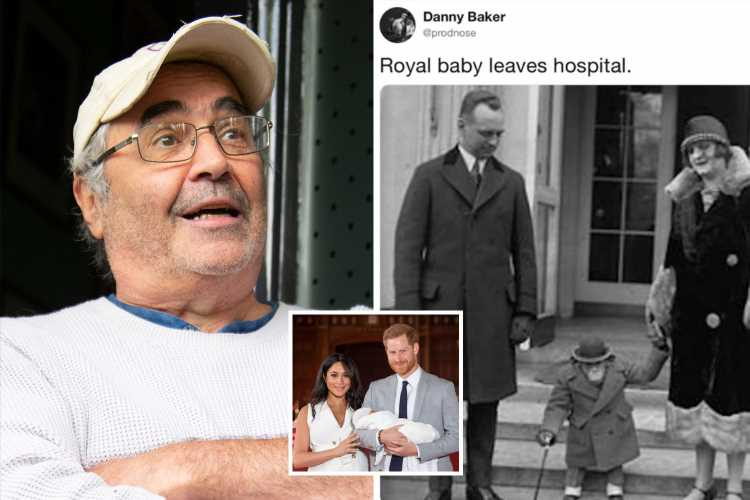 Danny Baker to face no police action over 'racist' Meghan Markle baby tweet