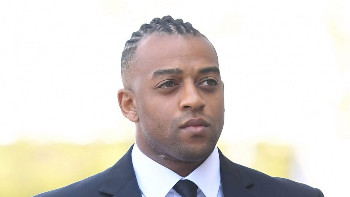 JLS singer Oritse Williams arrives at court charged with raping fan in hotel room after concert