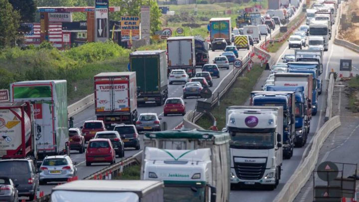 May Bank Holiday getaway travel chaos as millions queue on major roads and head for airports