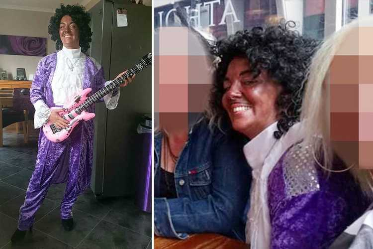 Mum at centre of race row after 'blacking up' as pop star Prince for 80s tribute night