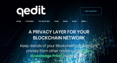 Israeli Blockchain Startup QEDIT Launches Enterprise Data Privacy Solution