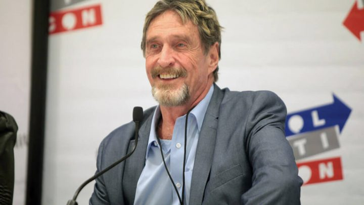 Bitcoin Bull John McAfee Announces White House Run