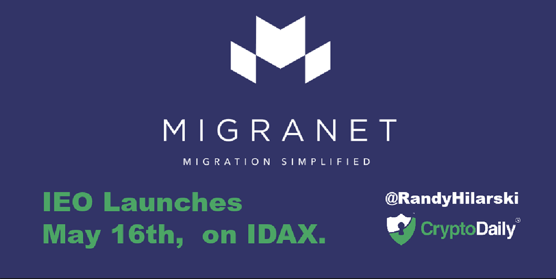 Migranet IEO Launches May 16th, On IDAX