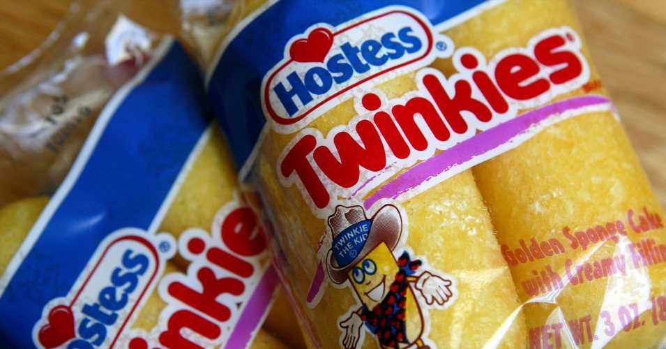 Twinkie-maker Hostess seeing record sales at Walmart and so JP Morgan thinks the stock is a buy