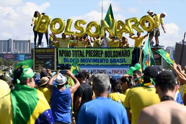 Bolsonaro's Backers Struggle to Stage Rallies Across Brazil