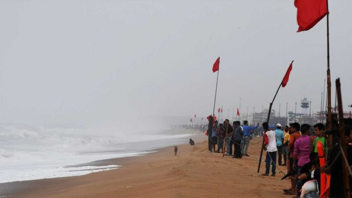 800K flee as India braces for direct hit from 'dangerous' Cyclone Fani