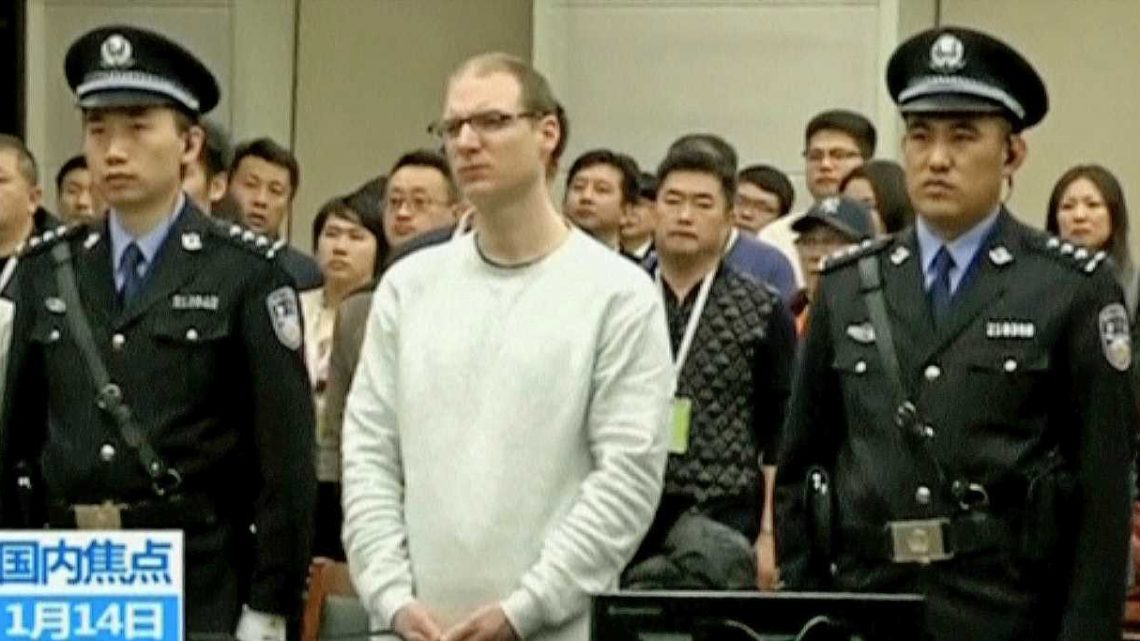 China just took another step toward putting a Canadian to death, in apparent retaliation for its arrest of Huawei's CFO