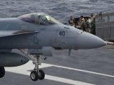 Here's what it's like to be on an aircraft carrier while the 'Top Gun' sequel is being filmed