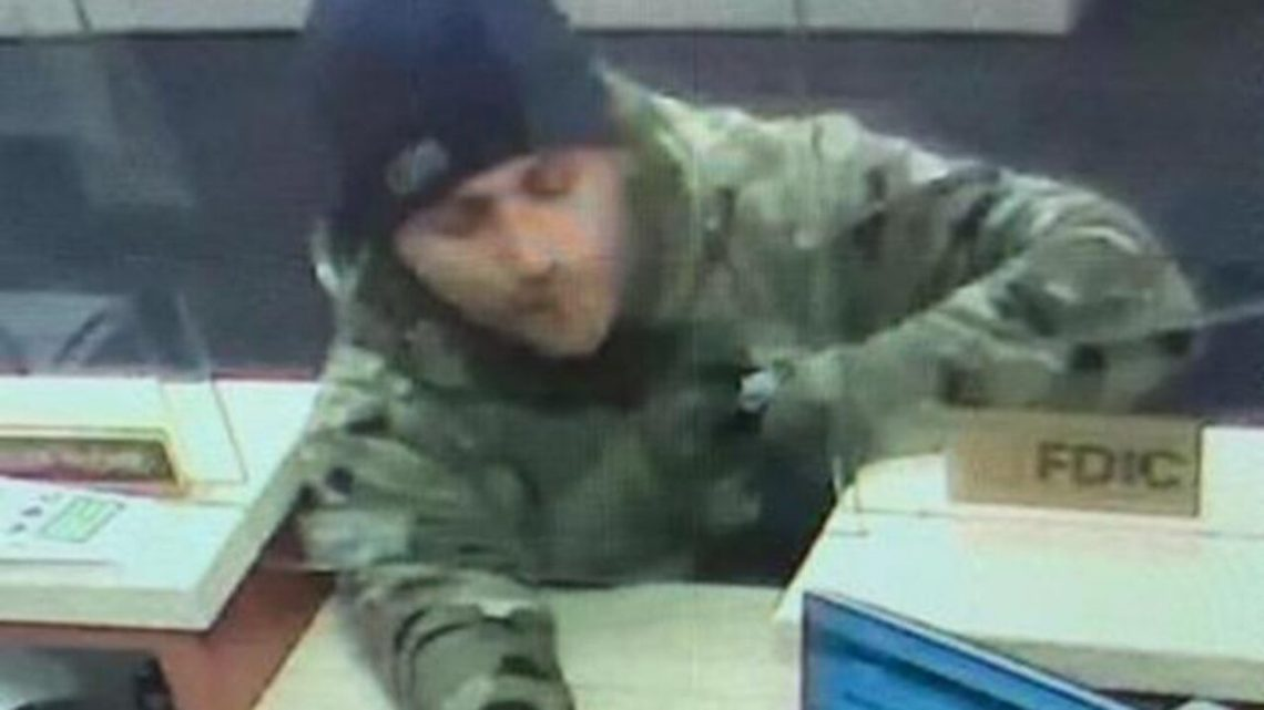 Brazen bank robber terrorizes teller by waving around loaded gun, FBI offer $20G reward