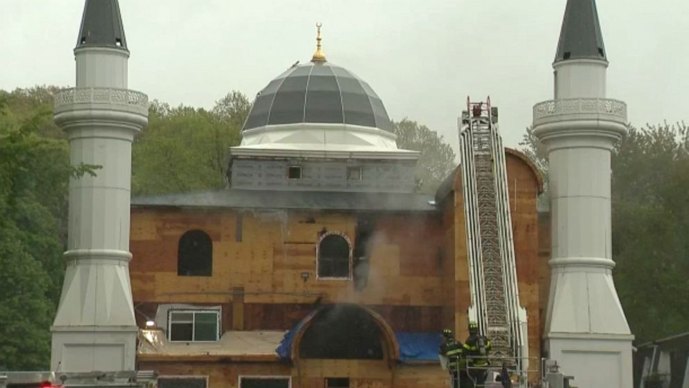 Connecticut mosque fire was intentionally set, officials say