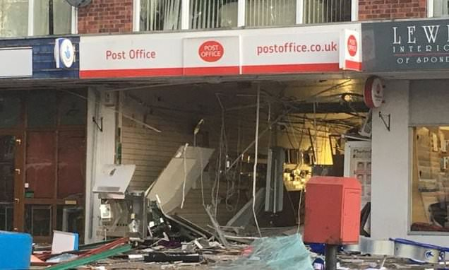 Gangs who blow up ATMs and ram raid shops are terrorising villages