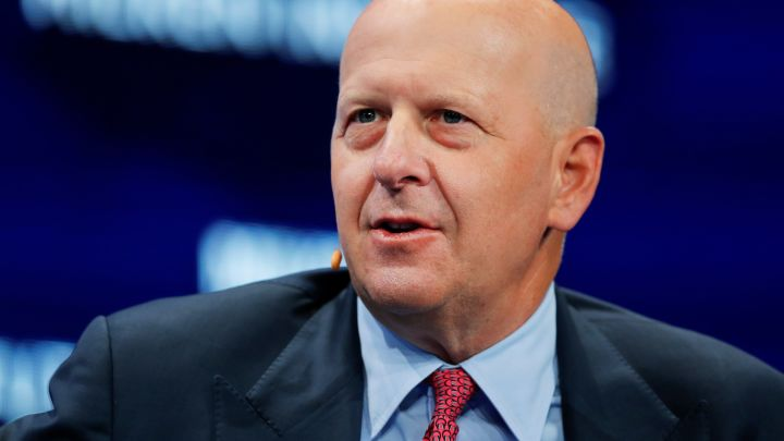David Solomon says Goldman Sachs is looking into using blockchain to digitize assets