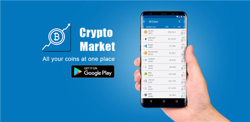 Crypto Market Android App Releases New Version
